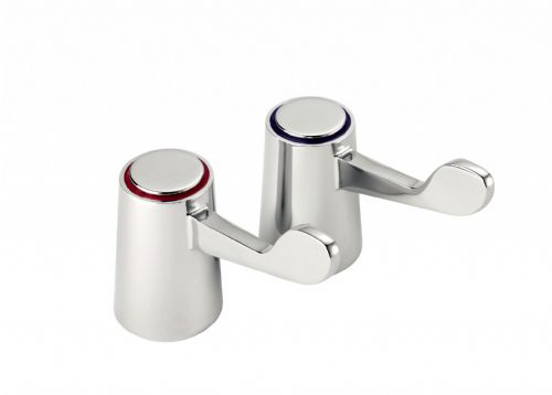 "Deva DLV001 3"" Lever Handles To Suit DLT Range - Chrome"